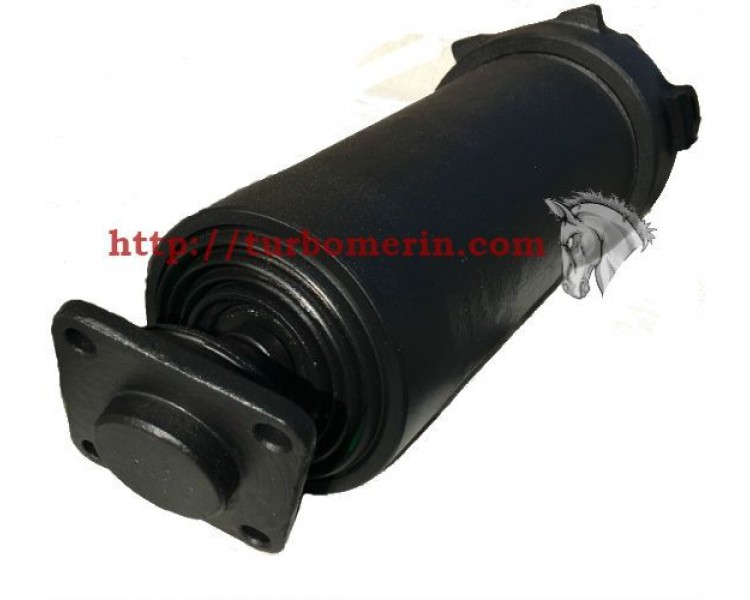Гидроцилиндр ЗИЛ 4 х штоковый Подключение в крышку 390 | ГЦТ1-4-14-1030
