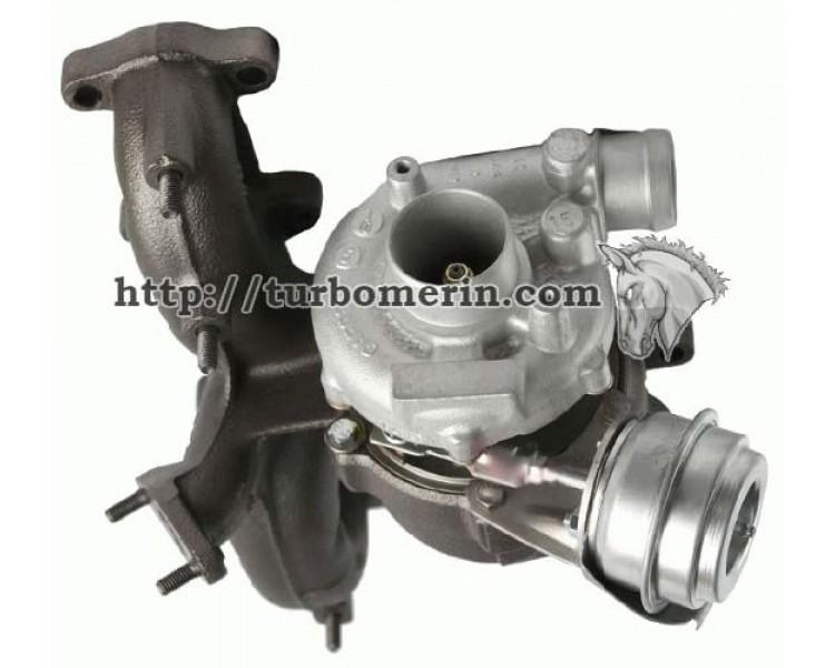 Турбина Seat Alhambra 1.9 TDI 1996-2003 81кВт 110л.с | Турбокомпрессор Seat Alhambra 713673-0002