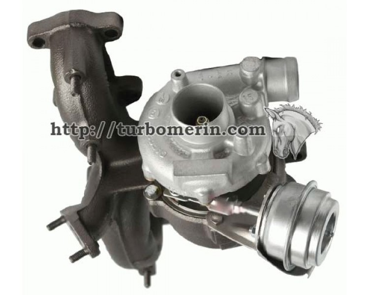 Турбина Volkswagen Beetle 1.9 TDI 1997-2003 74кВт 85кВт 100л.с 115л.с | Турбокомпрессор VW Beetle 713673-0002