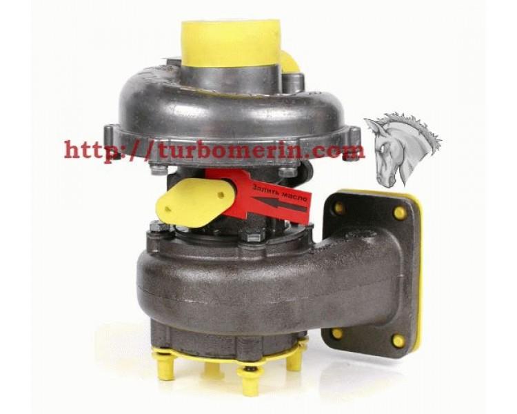 Турбокомпрессор ТКР  6  04 | Турбина ГАЗ 34039 33 ГТ Двигатель Д 245.12С