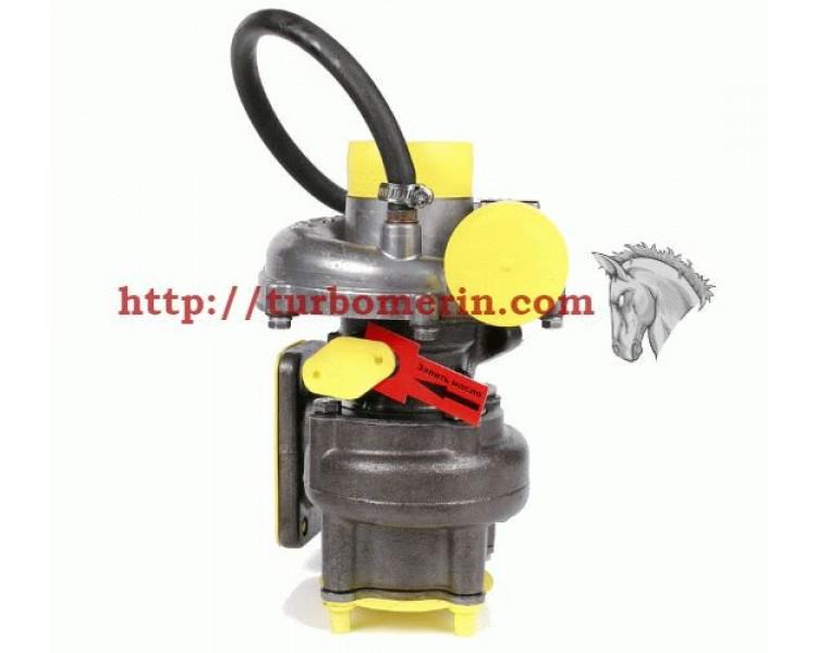 Турбокомпрессор ТКР 6.1 01 | Турбина ПАЗ 32051 ЗиЛ Двигатель Д 245.7 Д 245.9 с Вакуумом (Клапаном, Актуатором)
