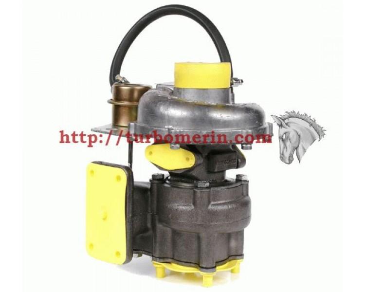 Турбокомпрессор ТКР 6.1 02 | Турбина ЛАЗ 695 ПАЗ Аврора Двигатель Д 245.9-67 Д 245.9-568