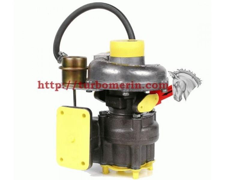 Турбокомпрессор ТКР 6.1 03 | Турбина ГАЗ Двигатель Д 245.7-566 Д 245.7-165 ГАЗ с Вакуумом (Клапаном, Актуатором)