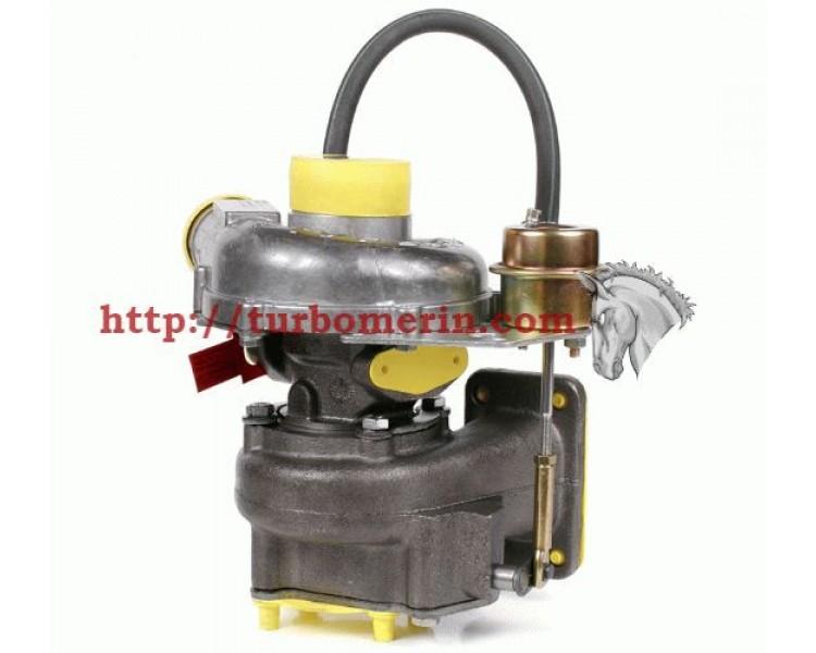Турбокомпрессор ТКР 6.1 05 | Турбина МАЗ 4370 Зубренок Двигатель Д 245.9-335/336 с Вакуумом (Клапаном, Актуатором)