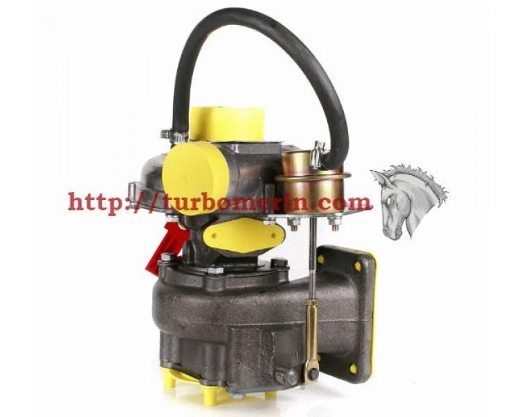 Турбокомпрессор ТКР 6,5.1 09.03 Евро-3  | Турбина ГАЗ Двигатель Д-245.7 Е3 Евро-3 с Вакуумом (Клапаном, Актуатором)