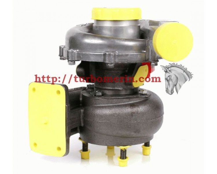 Турбокомпрессор ТКР 7С 6 Левый на 4 шпильки | Турбина КамАЗ Евро-2 Двигатель КамАЗ-740