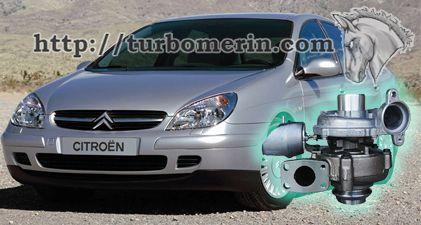 Citroen C5 1.6 2003 2004 с турбиной 750030 753420 740821