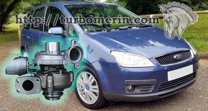 Ford CMax 1.6 2003 2004 с турбиной 750030 753420 740821