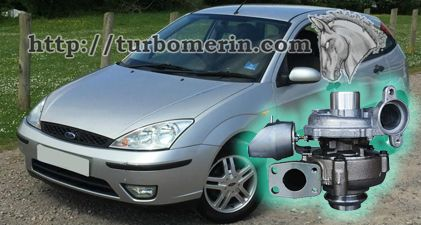 Ford Focus 1.6 2003 2004 с турбиной 750030 753420 740821