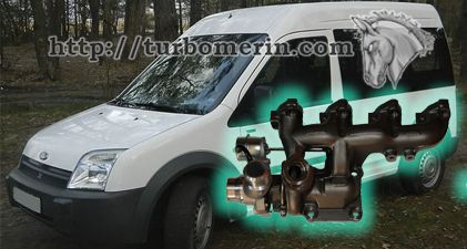 Ford Transit Connect 1.8 1999 2000 2001 2002 с турбиной 706499 802419 802419