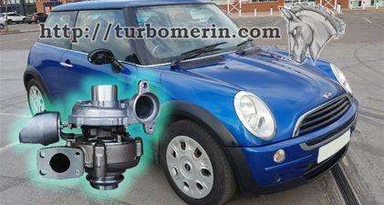 MINI One D 1.6 2006 с турбиной 750030 753420 740821