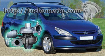 Peugeot 307 1.6 2003 2004 с турбиной 750030 753420 740821