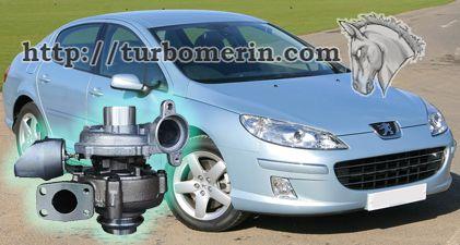 Peugeot 407 1.6 2003 2004 с турбиной 750030 753420 740821