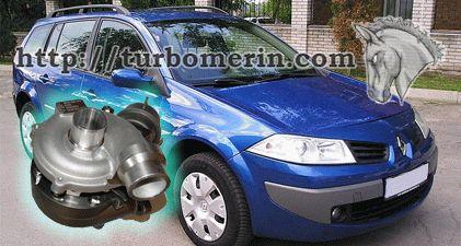 Renault Megane 1.5 2005 2006 с турбиной 54399700022