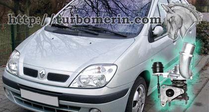 Renault Scenic 1.9 dCi 2001 с турбиной 717345 751768 703245